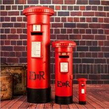 D модель почтового ящика Декор для кафе-бара декорация реквизит для фотографий креативное Домашнее Ретро украшение реквизит для съемки