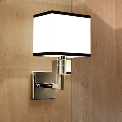 Modern Chrome Metal Led Wall Lamp Lustre Crystal Bedroom Led Wall Lights Fixtures Living Room Led Wall Light Fabric Wall SconceModern Chrome Metal Led Wall Lamp Lustre Crystal Bedroom Led Wall Lights Fixtures Living Room Led Wall Light Fabric Wall Sconce
