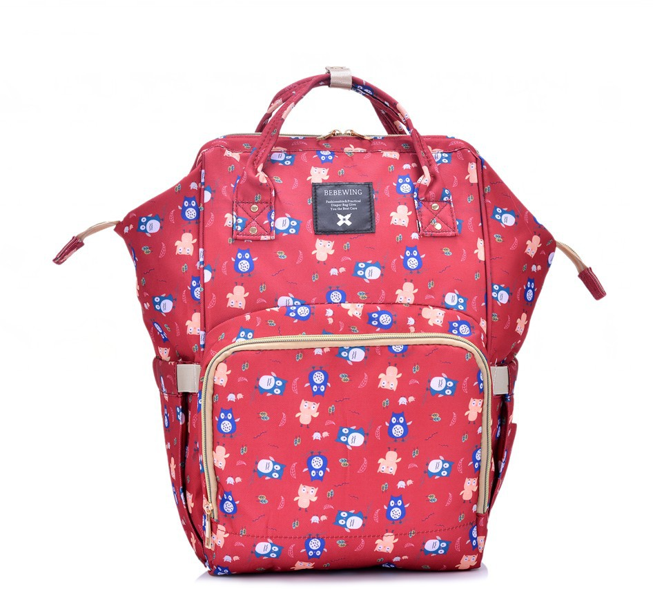 Waterproof Baby Diaper Bag Cute Baby Nappy Bag Backpack Maternity Bags Baby Care Changing Bag for Stroller High Quality high quality cute dot baby diaper nappy bag maternity baby bags for mom multifunctional mother care bag durable stroller bag