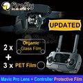 Sunnylife 5 шт./компл. Модернизированный HD Объектив Камеры Защитные Пленки + Пульт дистанционного управления Экран Органического Стекла Пленка для DJI MAVIC PRO