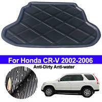 ด้านหลังรถ Cargo Liner พรมพรมเสื่อถาด Pad พรมสำหรับ Honda CR-V CRV 2002 2003 2004 2005 2006 Anti - สกปรก