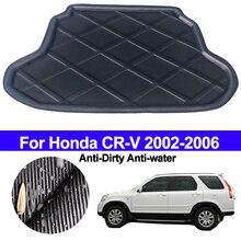 Phía Sau Xe Khởi Động Hàng Hóa Lót Thân Cây Sàn Thảm Khay Thảm Lót Trải Thảm Dành Cho Xe Honda CR V CRV 2002 2003 2004 2005 2006 Chống Bẩn