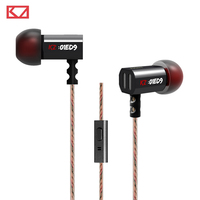 2015 Brand New Original KZ ED9 3 5mm In Ear Headset Heavy Bass HIFI DJ Earphones
