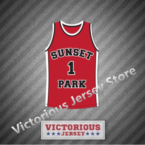 Minanser Fredo Starr Shorty 1 Sunset Park Basketball Jersey Stitch Sewn Men 16f9e754c