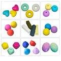 10 pcs contas de dentição Silicone dentição beads para crianças silicone diy acessórios para jóias diy fazendo beads atacado