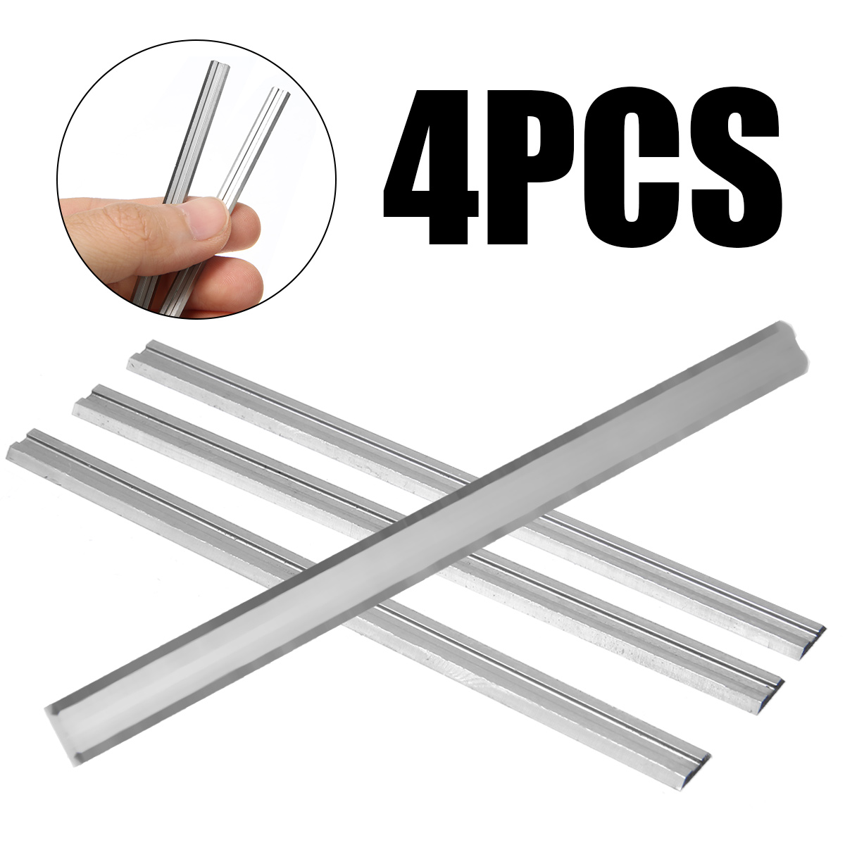 4pcs Carbide  82*5.5*1.1mm Planer Knife 82mm For Bosch PHO 25-82 / PHO 200 / PHO 16-82 / B34 HM Planer Blades Hot Sale