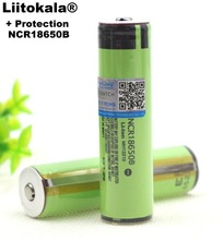 VariCore Protection New Original NCR18650B 18650 li-ion Rechargeable battery 3400 mAh 3.7 V with PCB For Flashlight batteries