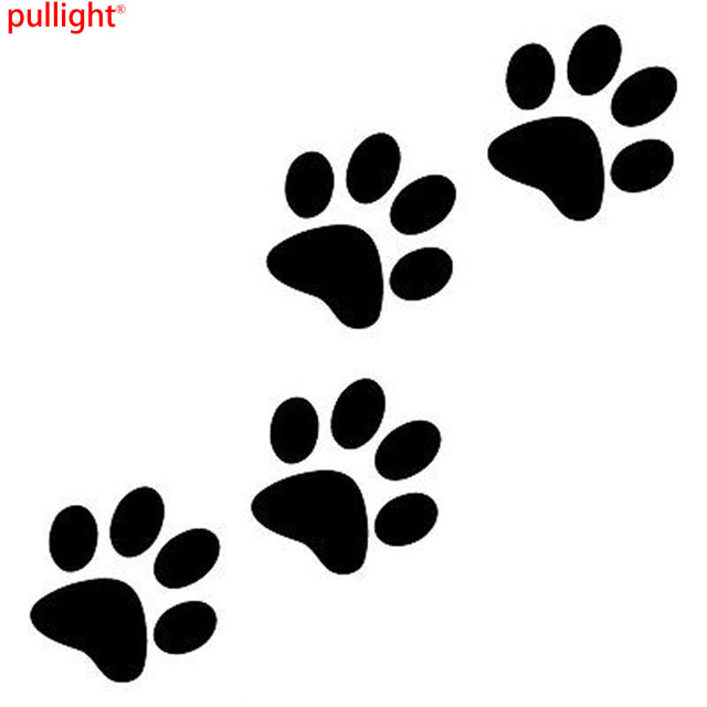 Animal Cat Paw Print Funny Vinyl Decal Motorcycle Car Sticker