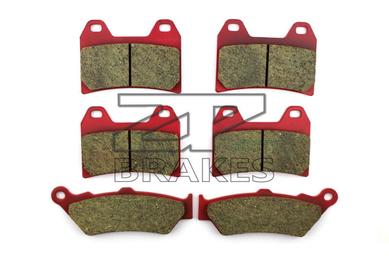 Ceramic Brake Pads Front + Rear For VICTORY Victory V92SC 2000-2003 OEM New High Quality ZPMOTO motorcycle brake pads ceramic composite for triumph 800 tiger 2011 2014 front rear oem new high quality zpmoto
