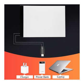 A4 LED Dimmable Light Diamond Painting Tools Tablet Pad USB Plug Diamond Embroidery Accessories Cross Stitch tool