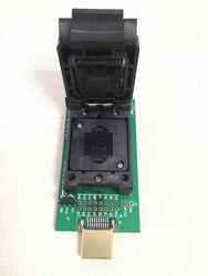 EMMC hembra prueba chip flash eMMC153 hembra eMMC169 BGA169 hembra BGA153 teléfono Android flash copia de seguridad de los datos de recuperación de datos SD HDMI