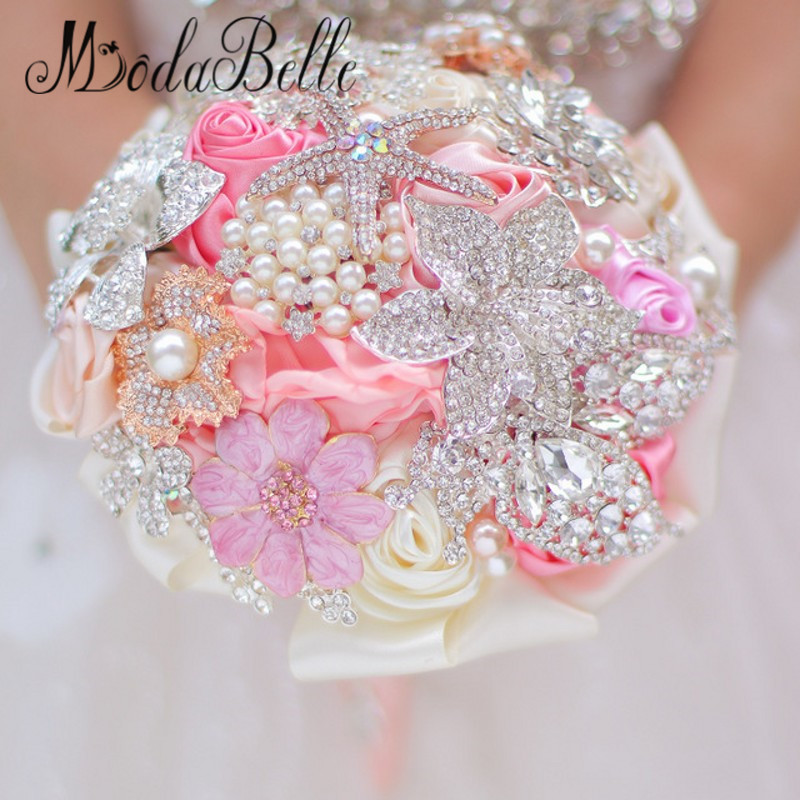 Bridal Bouquet Throwing : Aliexpress buy handmade colorful artificial