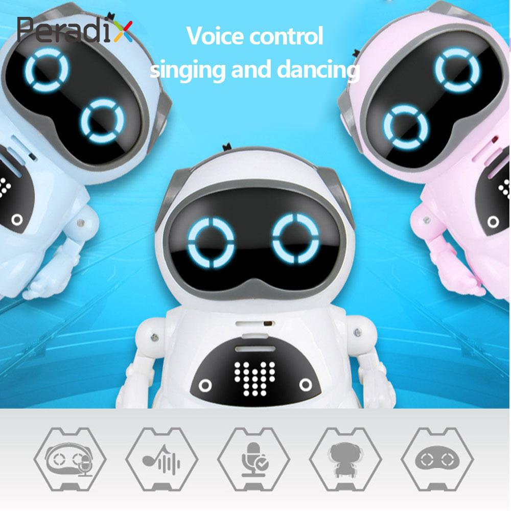 Multicolor Early Education Entertainment Pocket Robot Speech Robot Small Room Mini Pocket Robot Novelty Dialogue Decor Kids toy