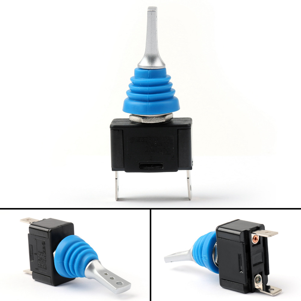 Areyourshop Waterproof Toggle Switch 12mm On Off 3p Spdt Latching With Wire Leads Details About Spst 10a 125v Sci For Car
