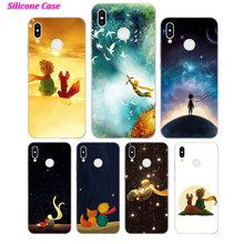 Silicone Phone Case The Little Prince With the fox for Huawei P Smart 2019 Plus P30 P20 P10 P9 P8 Lite Mate 20 10 Pro Nova