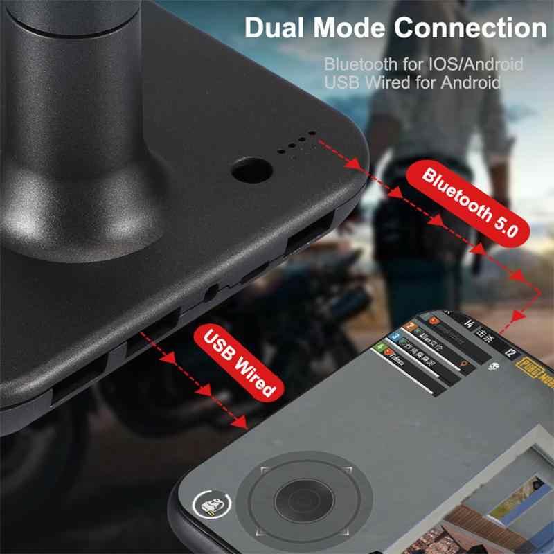 Điện Thoại Tay Cầm Chơi Game USB Điều Khiển Cho IOS Pubg Bộ Điều Khiển Chơi Game Android Với Máy Tính Bluetooth USB Chuột Bàn Phím Chuyển Đổi