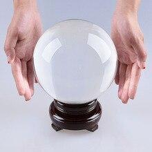 Quartz Crystal Ball 150mm Sphere Fashion Table Decor Good Luck Ball