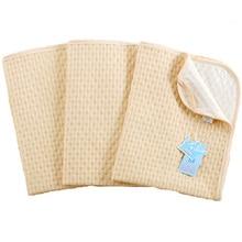 Baby Diaper TUP Waterproof Sheet Matress Washable Organic Cotton Newborn Diaper Pad  Infant 3 Layers Reversible Changing Mat