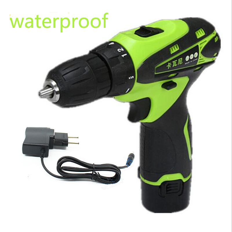12V Rechargeable electric screwdriver Parafusadeira Furadeira Lithium Battery Cordless Electric Drill hand tool set  цены