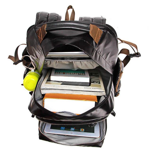 placeholder Comfy Shockproof Business Casual Laptop Backpack Side Buckle  Women Korean Style Fashion Travel Bag Men Trendy 9c883373f7c9d