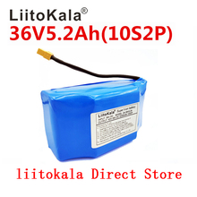 LiitoKala 36V 5.2Ah 5200mah high drain 2 wheel electric scooter self balancing lithium battery pack for Self-balancing Fits 6.5