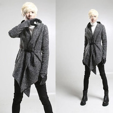 2016 marke Kleidung Herrenmode Tops Jacke Outwear männer Hoody Cape-Mantel männer Mantel Sweatshirt Kleidung 4 farben M-XL