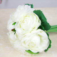 White Peony Wedding Bouquets Beautiful Wedding Bouquets Bridal Bridesmaid Flower Artificial Flower Bouquets