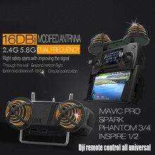 Antena de Control remoto/amplificador de rango de señal, rango para DJI MAVIC SPARK PHANTOM 3/4/4PRO /mavic air/2 pro mavic/zoom
