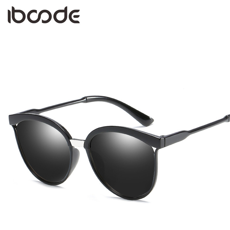 iboode Vintage Women Sungalsses Cat Eye Tinted Color Lens UV400 Sun Glasses Female Elegant Accessory Eyewear Eye Sunglasses ...