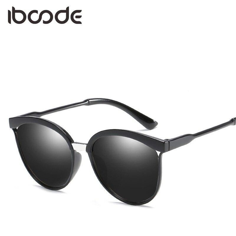 iboode Vintage Women Sungalsses Cat Eye Tinted Color Lens UV400 Sun Glasses Female Elegant Accessory Eyewear Eye Sunglasses ...