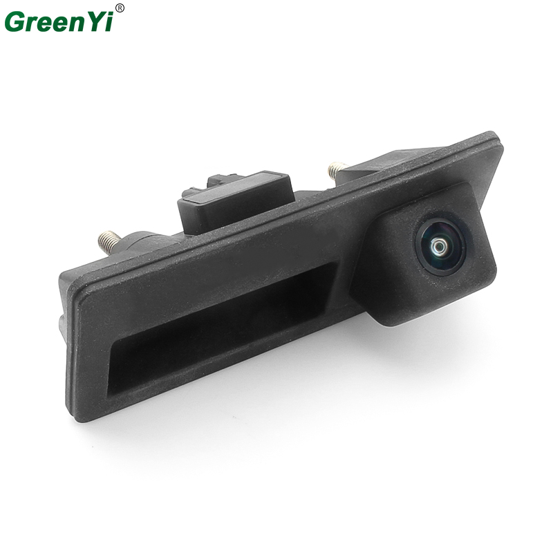 GreenYi Fisheye Lens 170 Degree Car Reverse Camera For Audi A4 S4 A6 Night Vision Vehicle Backup Rear View Parking Camera