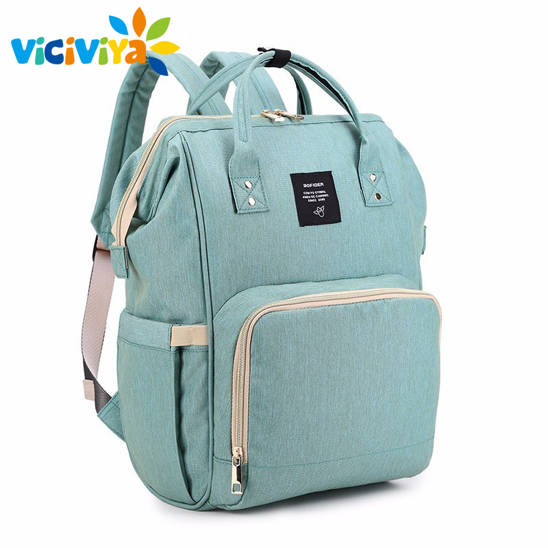 Mummy Maternity Nappy Bag Large Capacity Baby Bag Travel Backpack Nursing Bag Baby Care Outdoor Organizer Backpacks ^