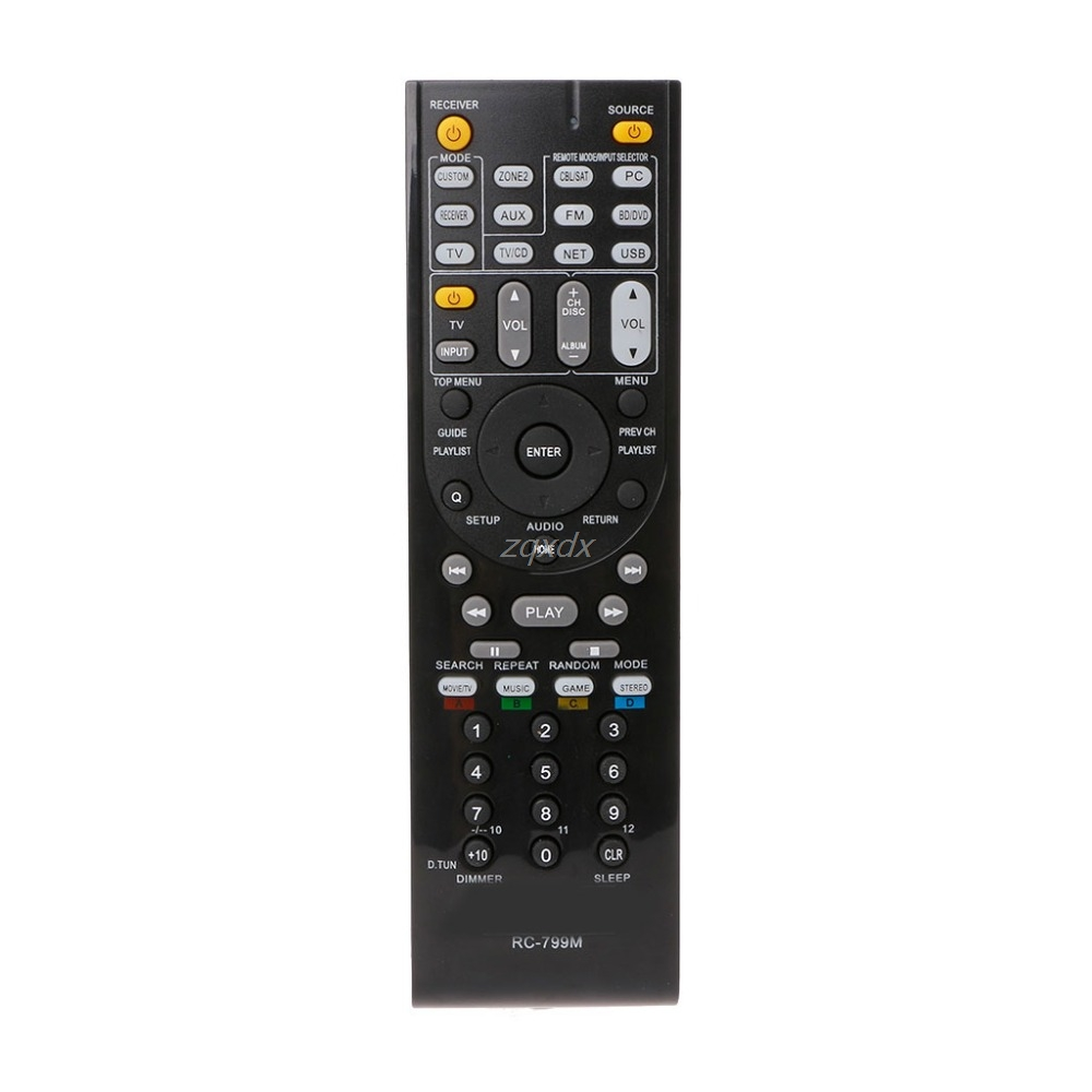 RC-799M Remote Control For Onkyo RC-803M RC-834M HT-R391 HT-R558 HT-R590 HT-R591 Z18 Drop Ship