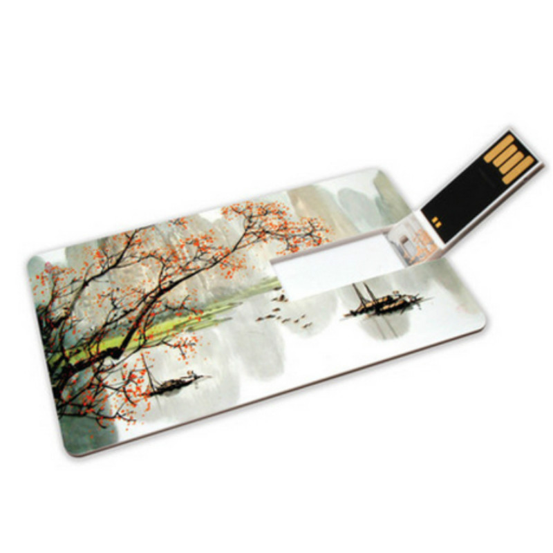 (Over 30 pcs Free Logo)credit card usb flash drive 8G 16G 32G 64G Bank Credit Card Shape USB Flash Drive Pen Drive pendrive ...