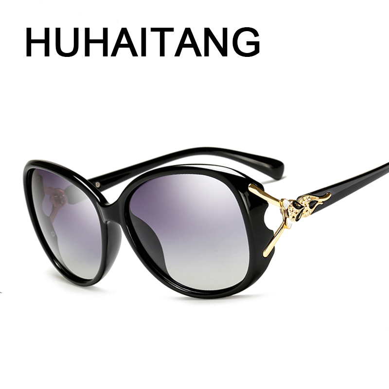 HUHAITANG Polarized Fox Head Sunglasses
