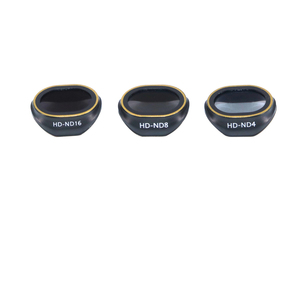 Image 2 - 3 pièces Drone Spark Filtres ND ND4 + ND8 + ND16 HD lentille de Filtre de protection Pour DJI Spark Drone Accessoires
