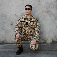 Hunting Airsoft Uniform Set New Type Camouflage Tactical Jacket Pants Uniform for Outdoor Paintball