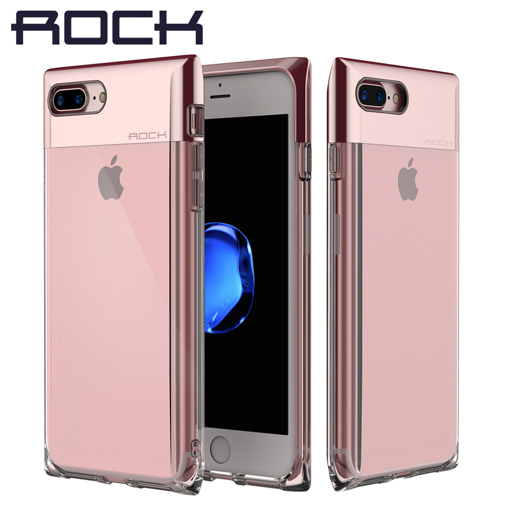 for iphone 7 7 plus case rock crystal series luxury cover. Black Bedroom Furniture Sets. Home Design Ideas