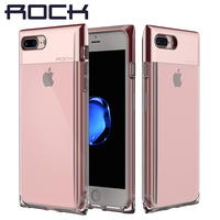 For IPhone 7 7 Plus Case ROCK Crystal Series Luxury Cover For IPhone 7 With Led