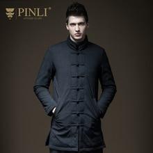 PINLI product 2017 winter new men's clothing, long and medium down jacket coat D173508457