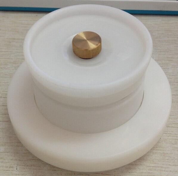 Moins cher coût 90mm pad impression d'encre tasse usine avec anneau en céramique