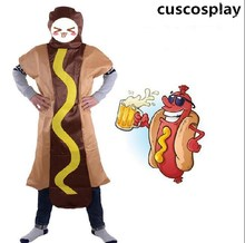 Cuscosplay Unisex Funny Dog Fast Food Advertising Restaurant Mascot Costume For Kids  sc 1 st  AliExpress.com & Buy food advertisements and get free shipping on AliExpress.com