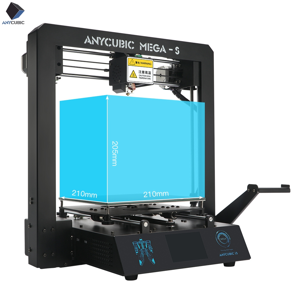 2019 Anycubic i3 Mega-S 3D Printer Upgrade print Kits Plus Size Full Metal