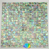 New Zealand Abalone Paua Shell Seamless Mother Of Pearl Mosaic Tile For House Decoration Wall Tile
