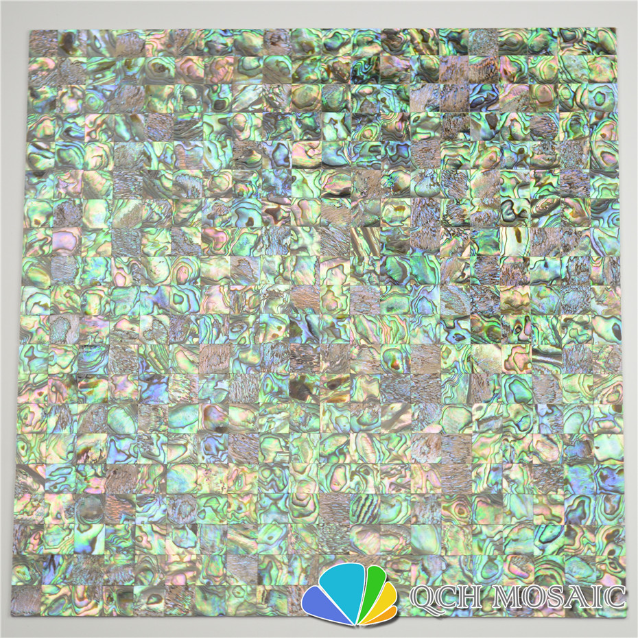 New Zealand Abalone Paua Shell Seamless Mother Of Pearl Mosaic Tile For House Decoration Wall Tile Sea Shell 5 Square Feet/lot