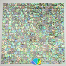 New Zealand abalone paua shell seamless mother of pearl mosaic tile for house decoration wall sea 5 square feet/lot
