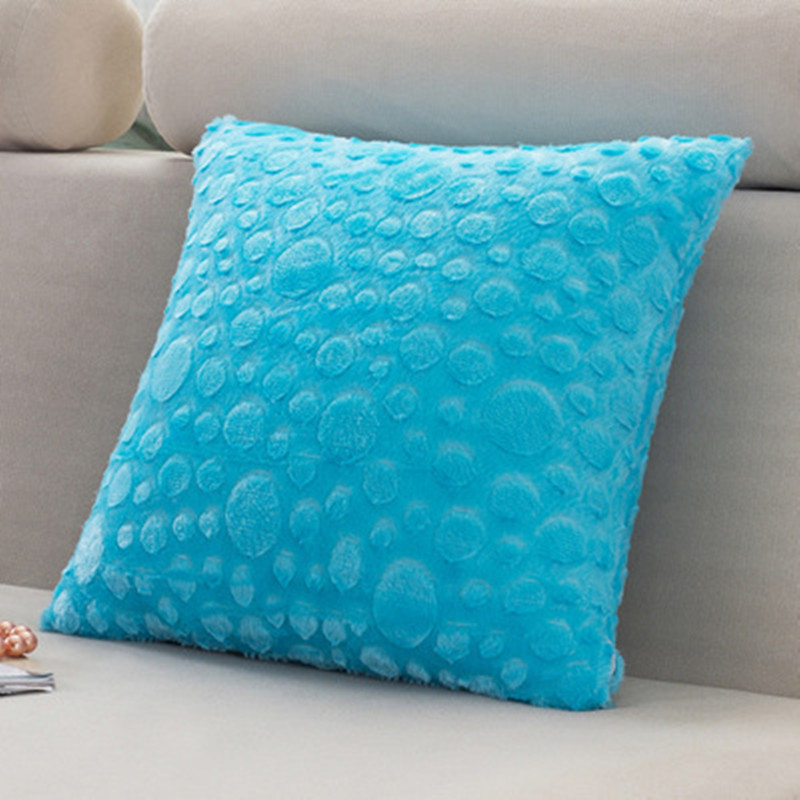 BZ031 Creative Lumbar Pillow Solid wollen without inner decorative throw pillows chair seat home ...