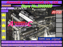 {50 PCS} Capacitor (63V 1000UF 16x25 1000UF 63V 16*25)(450V 100UF 18x30 100UF 450V 18*30 )(450V 100UF  18x35  100UF 450V 18*35 )