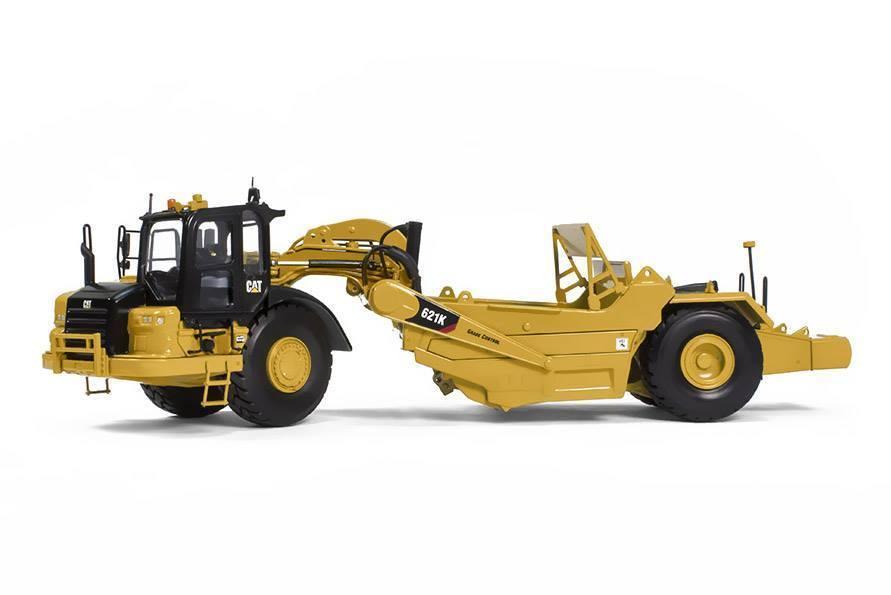 Rare Tonkin répliques 1:50 Caterpillar CAT 621 K roue tracteur grattoir TR80001 moulé sous pression jouet modèle Collection, décoration