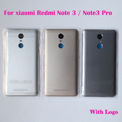 Original New housing For xiaomi Redmi Note 3 Note3 Pro Rear Back Battery Door Cover with Back Camera Lens Cover Replacement
